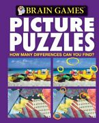Brain Games - Picture Puzzles 9 How Many Differences Can By Publications