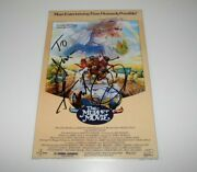 Actor Frank Oz Signed The Muppet Movie 12x18 Poster W/coa Muppets Jim Henson