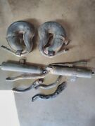 Yamaha Banshee 1987-2006 Stock Oem Factory Exhaust Complete Pipes And Silencers