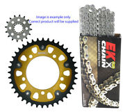 Aprilia Rsv 1000r 2004-09 17/42 Nx-ring Chain And Stealth Comp Sprocket