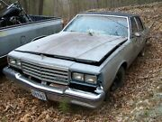 1986 Chevy Caprice 4dr Sedan 305/at Salvage Parts Car 86 Chevrolet No Paperwork