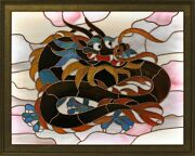 Stained Glass Window Dragon