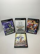 .hack Volume 1234 Playstation 2 Ps2 Complete In Box In Mint Condition
