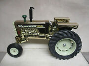 Custom Gold Oliver Model 1855 Toy Tractor 2011 Editiion 1/16 Scale