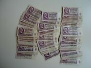 1961 Ussr Russian 25 Rubles Banknotes 100 Pcs Bandle Old Paper Money