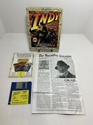 Indiana Jones And The Last Crusade For The Amiga 500/1200 Complete In Box