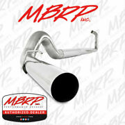Mbrp Turbo-back 5 Straight Pipe Ss Exhaust 2003-2007 Ford Powerstroke 6.0l