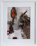 Sidney Gross Untitled 1 Gouache On Paper Signed And Dated Lower Right