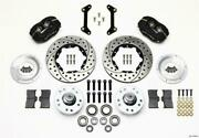 Wilwood Forged Dynalite Front Kit 11.00in Drilled 79-87 Gm G Body