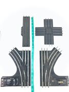 4 Vintage Lionel O27 Gauge Train Railroad Metal Tracks Control Switches Crossing