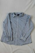 Gap Menand039s Shirt Color Blue Saquares Size Xxl Pre-owned But Good Condition .