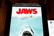 Composer John Williams Signed Jaws F/s 24x36 Movie Poster Beckett Coa Bas