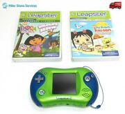 Leap Frog Leapster 2 Handheld Learning System - Green/blue W/ Pet Pals Tangeled