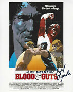 Director Paul Lynch Signed And039blood And Gutsand039 8x10 Movie Poster Photo W/coa