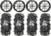 Sti Hd9 Bdlk 18 Wheels Mh 6+1 32 Moto Mtc Tires Can-am Renegade Outlander