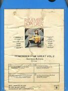 Remember How Great - Volume 2 8 Track Tape