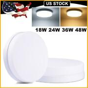 18w-48w Led Panel Light Surface Mount Ceiling Down Lights Bathroom Kitchen Round