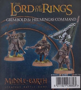 Grimbold And Helmingas Command Blister Hobbit Lord Rings Games Workshop