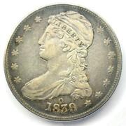 1839-o Capped Bust Half Dollar 50c - Certified Icg Vf35 - Rare O Mint Coin
