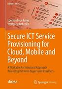 Secure Ict Service Provisioning For Cloud Mobile And By Eberhard Faber Vg