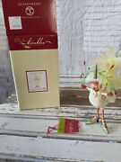 Dept 56 36616 Chicken 3 French Hens Xmas Decor Feather Krinkles