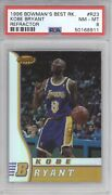 Kobe Bryant Psa 8 1996 Bowmanandrsquos Best Basketball R23 Rookie Refractor Rc 8911