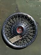 Orginal Ford Mustang Oem Spoke Wire Hubcaps 1967 - 1969 14