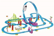Signature Sc Collection 360° Loop High Speed Roller Coaster Battery Operated Car