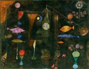 Nautilus Wooden Puzzles Fish Magic By Paul Klee 450 Piece Jigsaw Puzzle