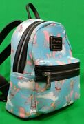 Disney Parks Dumbo Loungefly Exclusive Mini Backpack Original Heart Bag