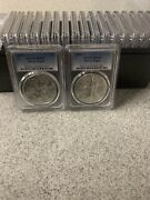 2020 Pcgs Ms69 Silver Eagle Lot Of 20 Total 20 Oz