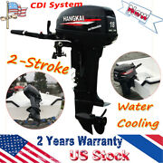 Hangkai 18hp 2stroke Outboard Motor Fishing Boat Engine Water Cooled Sale