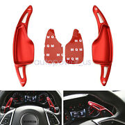 For Chevy 14-20 C7 Corvette Camaro Red Steering Wheel Paddle Shifter Extensions