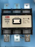 Abb Ehn 800 810 A Contactor Size 7 3ph 110/120v Coil Reconditioned