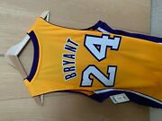 Rare Vintage Authentic Swingman Kobe Bryant Jersey - 24- Gold- Small New W Tags