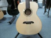 Alvarez By Kazuo Yairi Fym60hd Acoustic Guitar W/ Hard Case And Tags