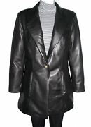 Plus Size And All 5020 Fine Fitted Clean Best Leather Blazer Coats Womens