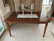 Farm Table In Walnut Made By Ea Clore Of Madison Va.
