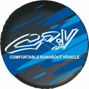 For Cr-v Car Spare Wheel Tire Tyre Soft Cover Storage Bag Protector 2627 S Blue