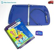 Leap Frog School House Quantum Pad Learning System W/ Stylus And 3rd Grade Math