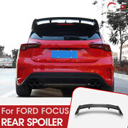 For 19-20 Focus Focus Mark 4 Rs Type Carbon Glossy Rear Spoiler Wing Kit