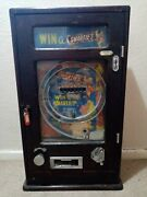 Allwin Smarties Machine Penny Arcade Coin Operated Arcade 1950`s