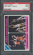 1975 Topps 309 Aba Semi-finals Psa 9 Mint Only 3 Rated Higher
