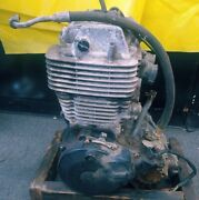 1983 Yamaha Xt550 Engine Motor Complete With Oil Line