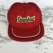 Vintage Steamboat Snapback Mesh Hat/cap Young An Trucker