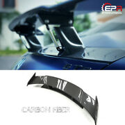 For Mercedes Benz Amg Gt Ren Style Carbon Fiber Glossy Rear Gt Spoiler Wing Kit
