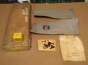 Nos Gm Accessories Radiator Cover Grille Guard Shields 42 1942 Chevrolet Pas Car