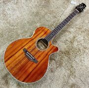 New Takamine Ptu131kc N Mij Acoustic Electric Guitar Compact Body Short Scale