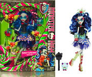 2014 Monster High Sweet Screams 11 Inch Doll Zombies Daughter Ghoulia Yelps