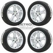 17 Chevrolet Cruze Silver Wheels Rims And Tires Oem Set 4 2011-2019 5749